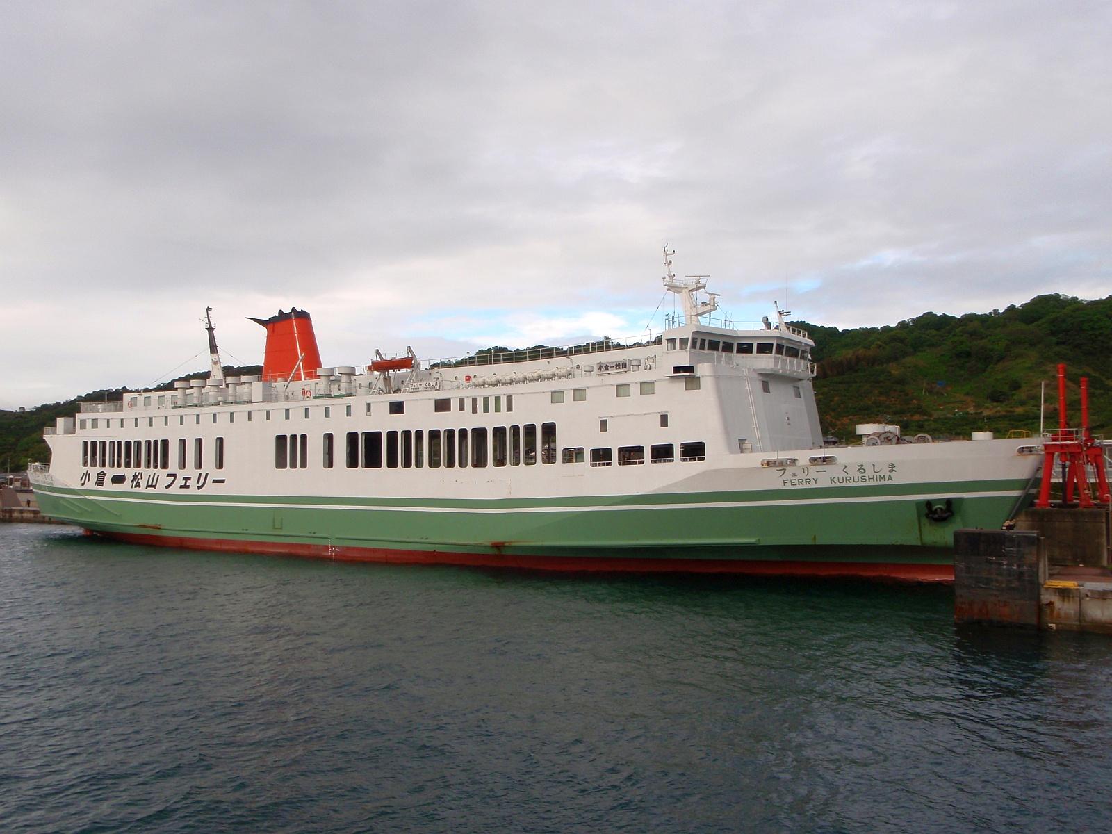 Ferry Kurushima Port of Matsuyama JAPAN - 宿代わりに使える夜行フェリー西日本編その1