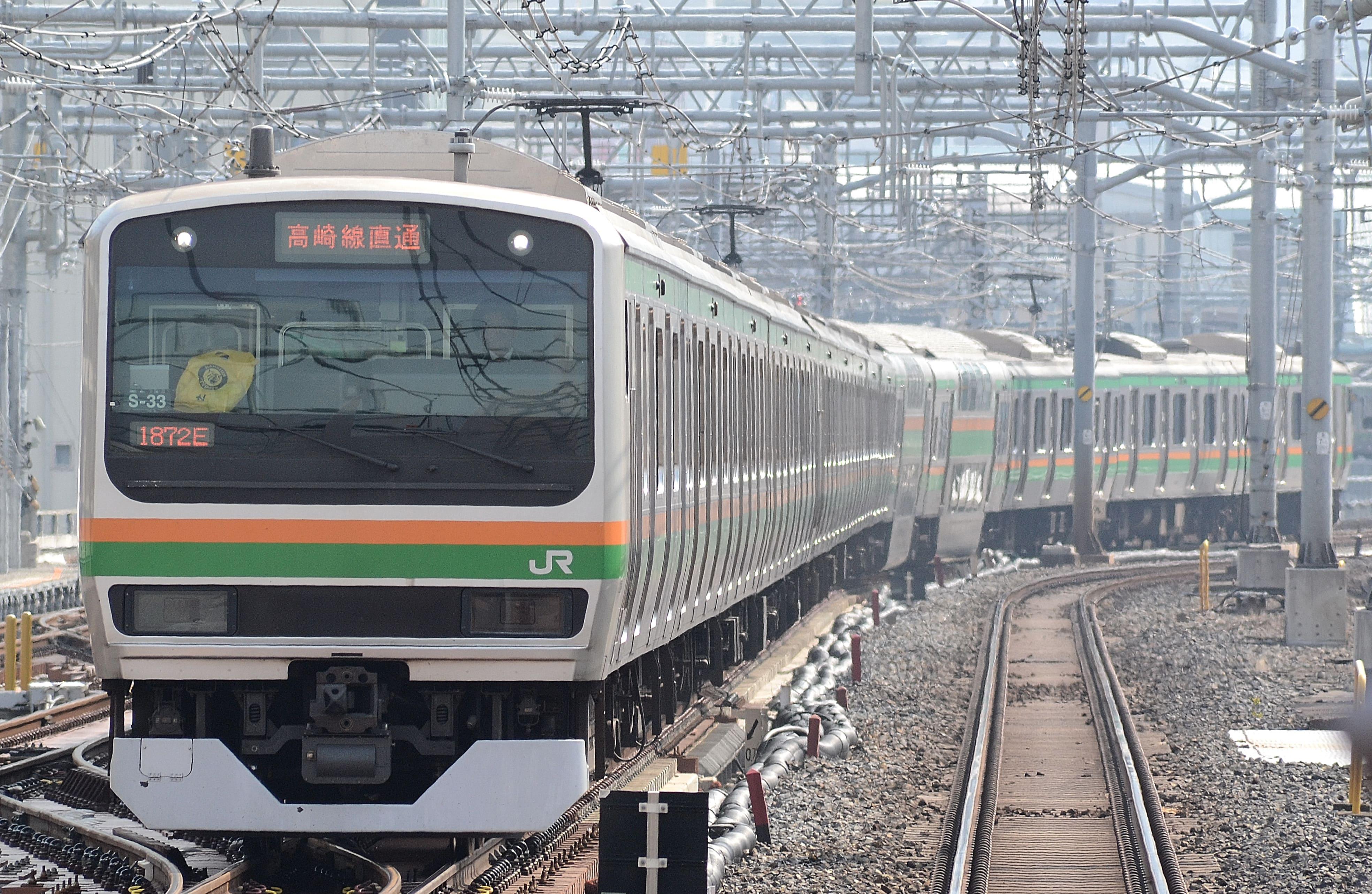 Ueno tokyo line E231 min - 青春18きっぷや北海道&東日本パスで東京~青森を乗り継ぐには?