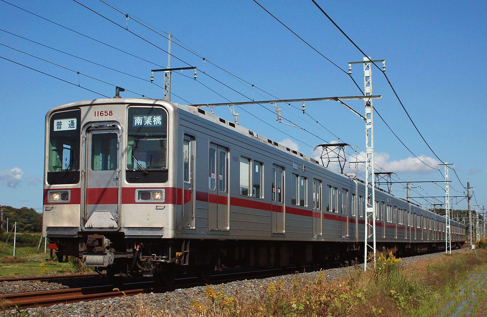 1658px Tobu Railway 10050 - 東武日光線末端区間で10030系代走実現!