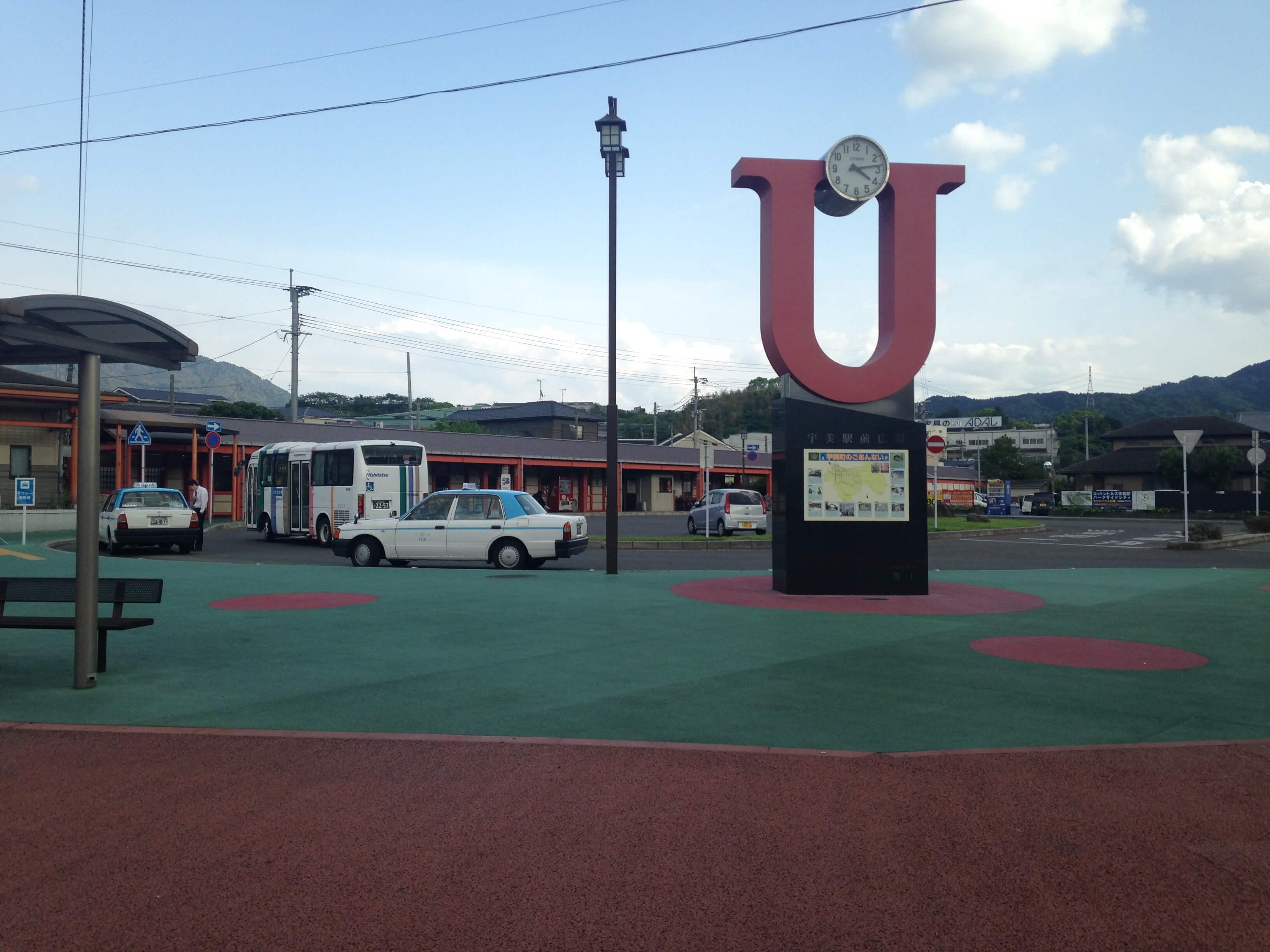 Umi Station Square 20150429 - 秋の乗り放題パスや青春18きっぷの旅行で役立つバス路線:九州編